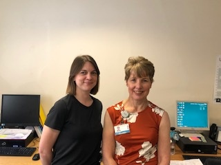 IOPP 2018 Hilary Baker, Macmillan Lead CNS for Uro-oncology and Jacqui Duncan, Macmillan CNS, UCLH.jpg